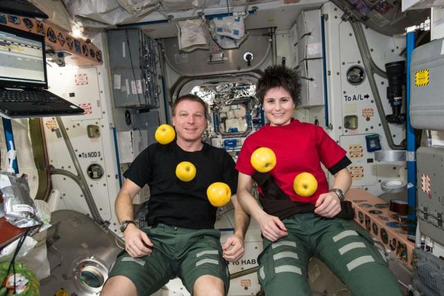 Cuộc sống khác thường của các phi hành gia trên trạm vũ trụ ISS - Ảnh 2.