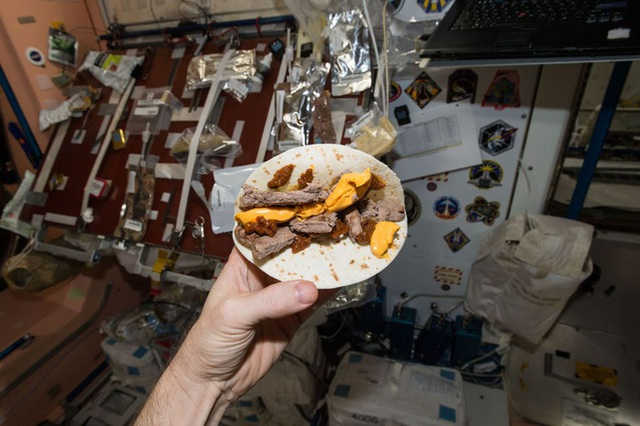 Cuộc sống khác thường của các phi hành gia trên trạm vũ trụ ISS - Ảnh 10.