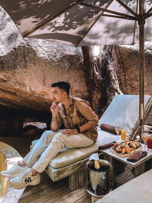 Sau chuyến đi thỏa mãn tại vịnh Ninh Vân, blogger Lý Thành Cơ gợi ý resort 5 sao cho các cặp đôi: Lãng mạn, yên bình, dịch vụ độc đáo tuyệt vời! - Ảnh 1.