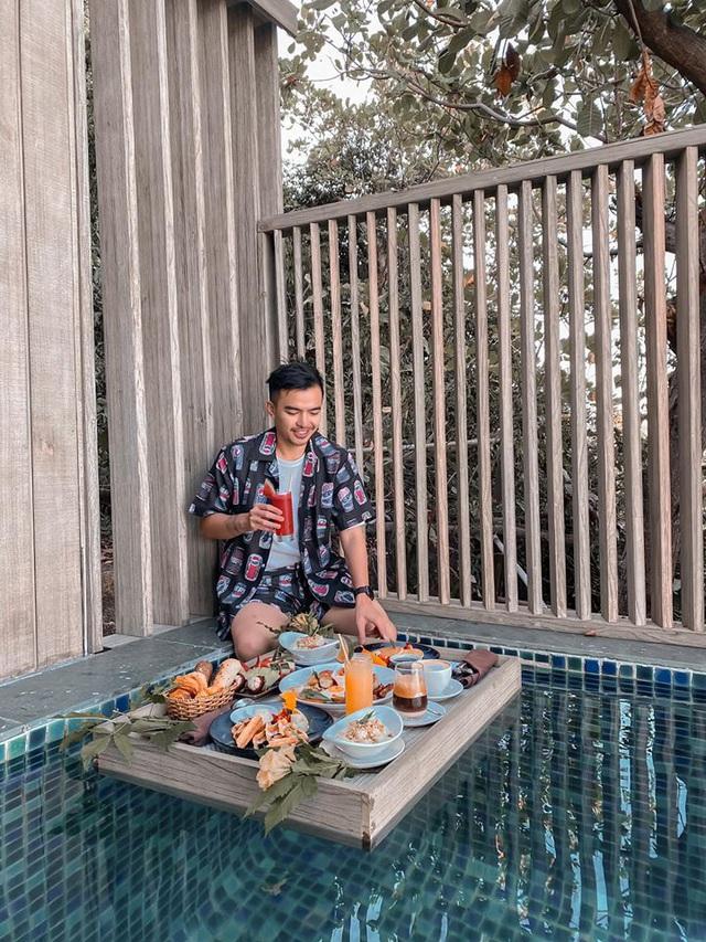 Sau chuyến đi thỏa mãn tại vịnh Ninh Vân, blogger Lý Thành Cơ gợi ý resort 5 sao cho các cặp đôi: Lãng mạn, yên bình, dịch vụ độc đáo tuyệt vời! - Ảnh 6.