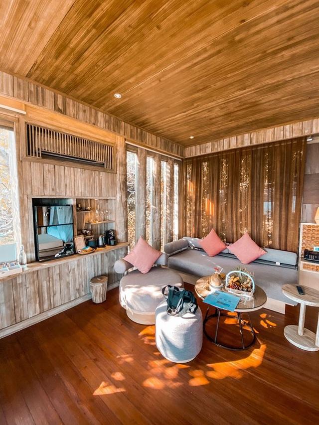 Sau chuyến đi thỏa mãn tại vịnh Ninh Vân, blogger Lý Thành Cơ gợi ý resort 5 sao cho các cặp đôi: Lãng mạn, yên bình, dịch vụ độc đáo tuyệt vời! - Ảnh 3.