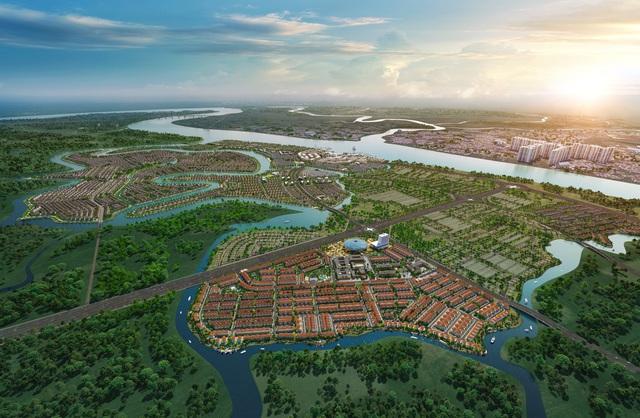 """""""Sóng"""" đầu tư hạ tầng đổ về khu Đông TP.HCM, biệt thự và nhà phố sinh thái hút giới địa ốc nhờ tiềm năng tăng giá cao - Ảnh 3."""