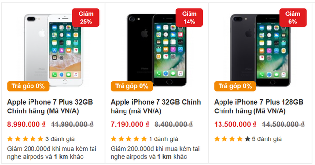 """Nhất định phải lưu tâm nếu muốn mua chiếc iPhone 7 Plus đang có giá siêu """"hời"""" - Ảnh 1."""