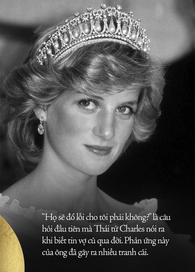 Giây phút cuối đời của Công nương Diana sau khi gặp nạn và phản ứng đầu tiên của Thái tử Charles trước tin dữ của vợ cũ - Ảnh 4.
