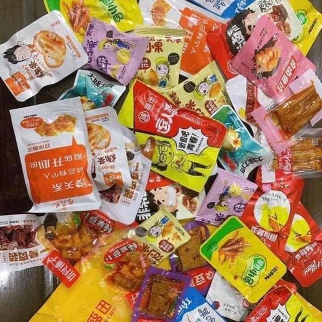 Rộ đồ ăn vặt nội địa Trung trên chợ mạng: Giá rẻ không thiếu thứ gì từ bánh kẹo, nước uống cho tới các loại thịt ăn liền - Ảnh 3.