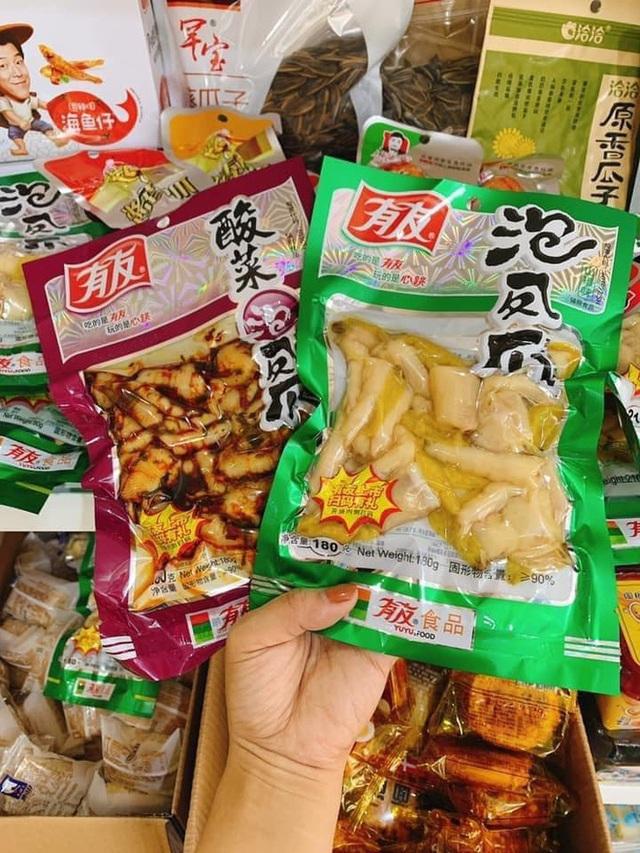 Rộ đồ ăn vặt nội địa Trung trên chợ mạng: Giá rẻ không thiếu thứ gì từ bánh kẹo, nước uống cho tới các loại thịt ăn liền - Ảnh 6.