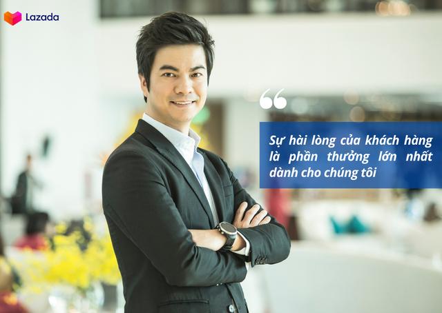 CEO Lazada Việt Nam: Tăng cường miễn phí giao hàng sẽ kích cầu tiêu dùng hiệu quả - Ảnh 2.