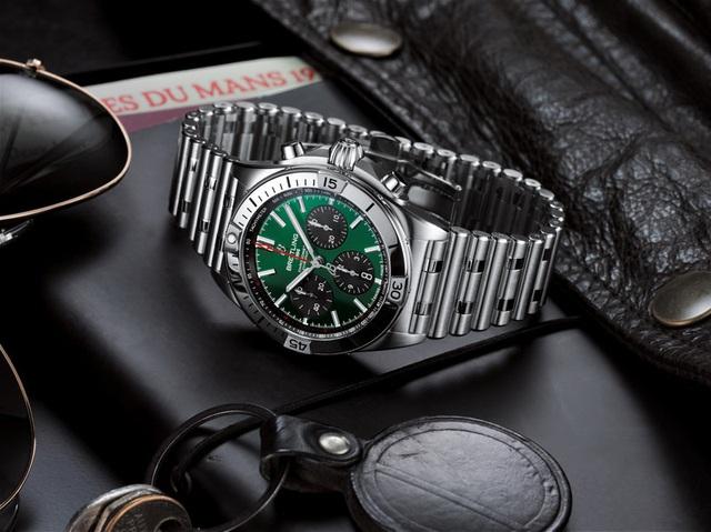 Chiêm ngưỡng mẫu đồng hồ 8.000 USD của Bentley và Breitling - Ảnh 2.