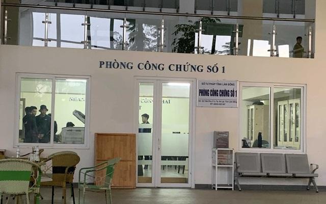Vợ Giám đốc Sở Tư pháp Lâm Đồng bị đình chỉ công tác vì lừa đảo - Ảnh 1.
