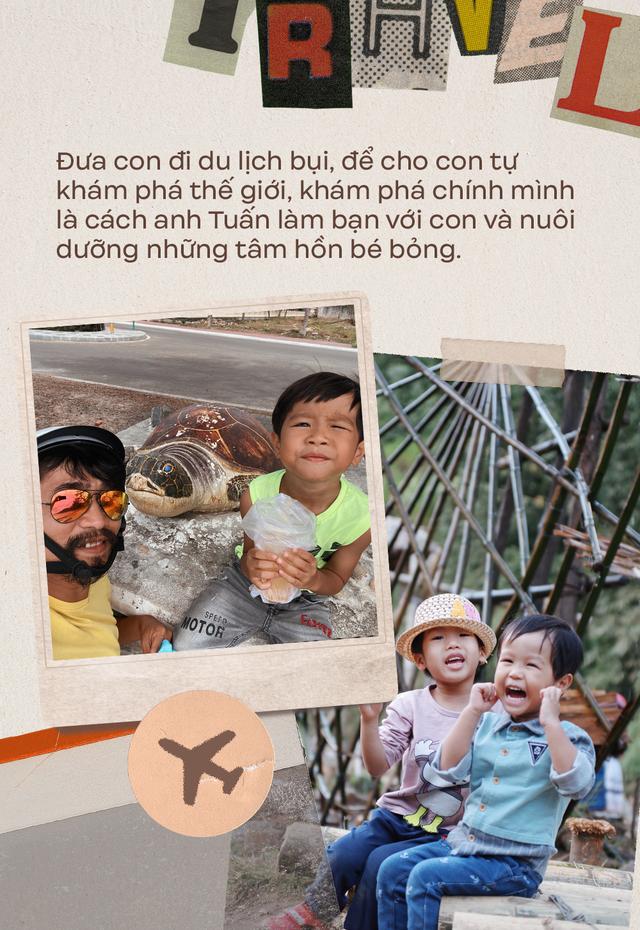 """Ông bố Hà Nội bỏ việc vì nghiện con: Cùng con """"đi đu đưa"""" từ 6 tháng tuổi, 3 tuổi đã """"thả"""" con đi khám phá đảo hoang, cứu hộ rùa - Ảnh 14."""