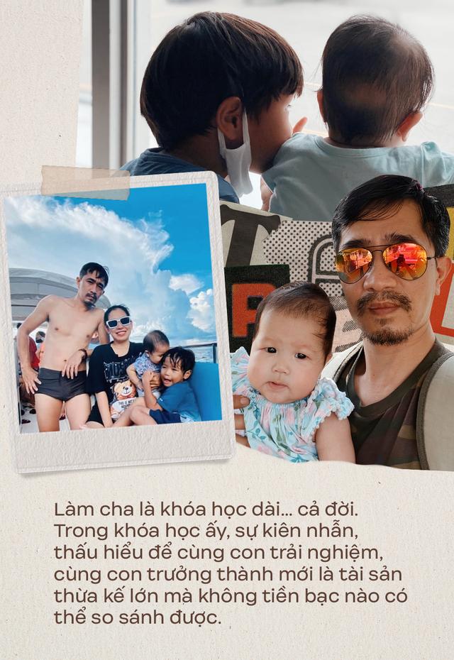 """Ông bố Hà Nội bỏ việc vì nghiện con: Cùng con """"đi đu đưa"""" từ 6 tháng tuổi, 3 tuổi đã """"thả"""" con đi khám phá đảo hoang, cứu hộ rùa - Ảnh 18."""