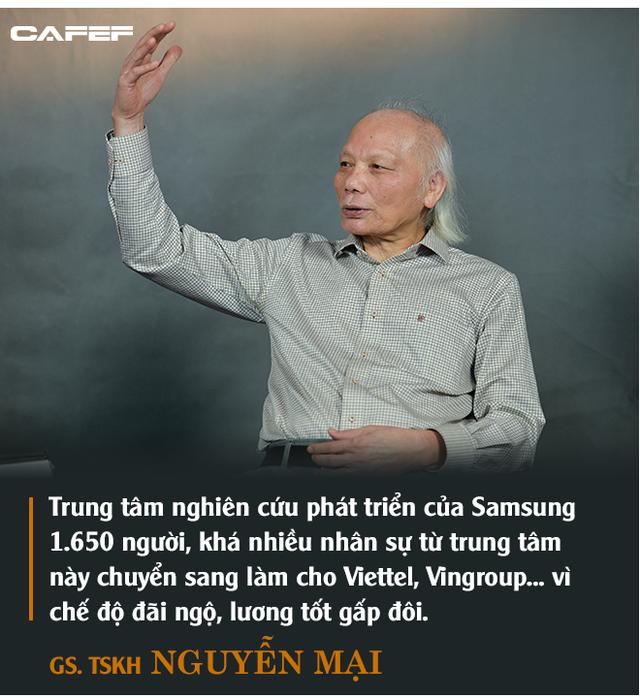 GS. Nguyễn Mại: Tương lai dòng FDI vào Việt Nam và nỗi lo của những doanh nghiệp như Samsung khi Vingroup, Viettel... lớn lên - Ảnh 8.