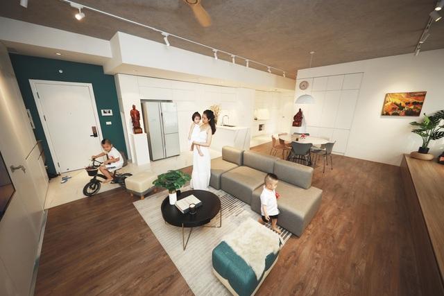 Căn hộ 130 m2 ở trung tâm Hà Nội phá vỡ mọi nguyên tắc thiết kế truyền thống - Ảnh 11.