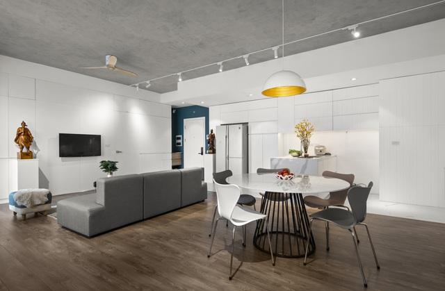 Căn hộ 130 m2 ở trung tâm Hà Nội phá vỡ mọi nguyên tắc thiết kế truyền thống - Ảnh 3.