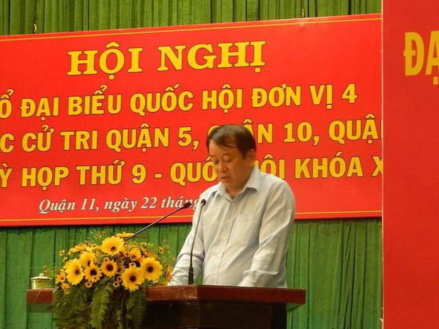Cử tri TPHCM đề nghị tiếp tục xử lý ông Tất Thành Cang - Ảnh 3.