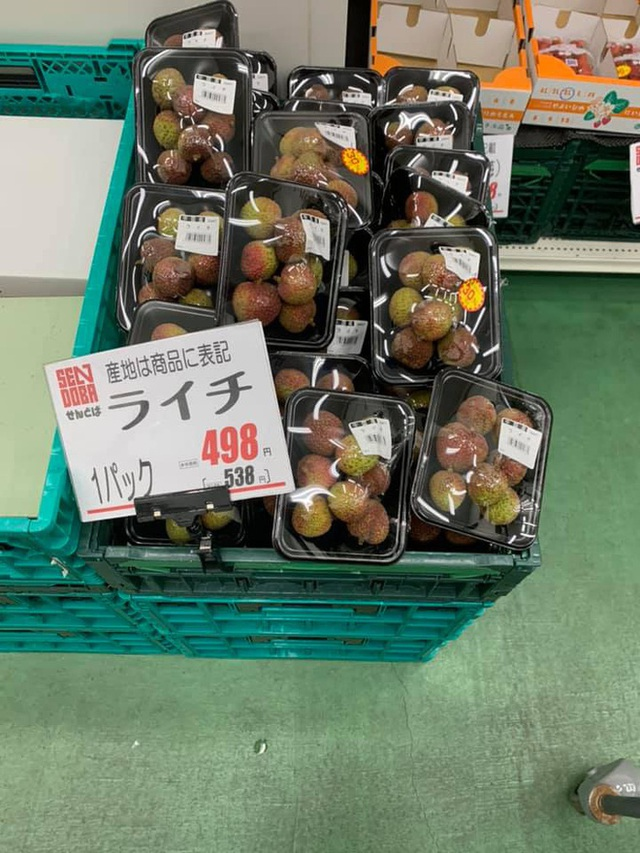 Dân mạng Việt khoe những trái vải bán trong siêu thị Nhật, 120k được mỗi 7 quả mà vẫn cháy hàng - Ảnh 5.