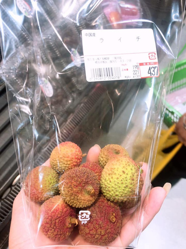 Dân mạng Việt khoe những trái vải bán trong siêu thị Nhật, 120k được mỗi 7 quả mà vẫn cháy hàng - Ảnh 8.