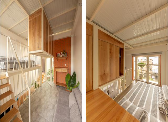Nhà mái đôi có khả năng chống nắng tuyệt vời tại TP HCM - Ảnh 10.