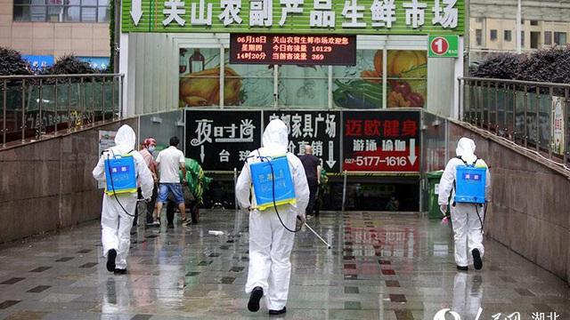 Hồ Bắc (Trung Quốc) chuẩn bị đối phó dịch Covid-19 có thể tái bùng phát - Ảnh 1.
