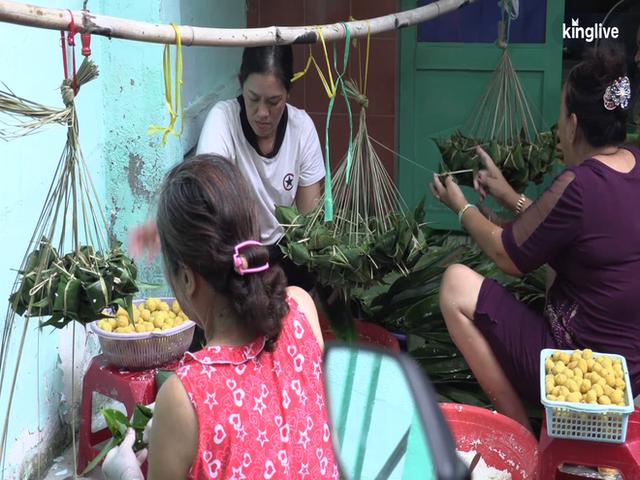 Ghé làng bánh ú tro, nghe chuyện làm bánh ngày Tết Đoan ngọ ở Sài Gòn - Ảnh 5.