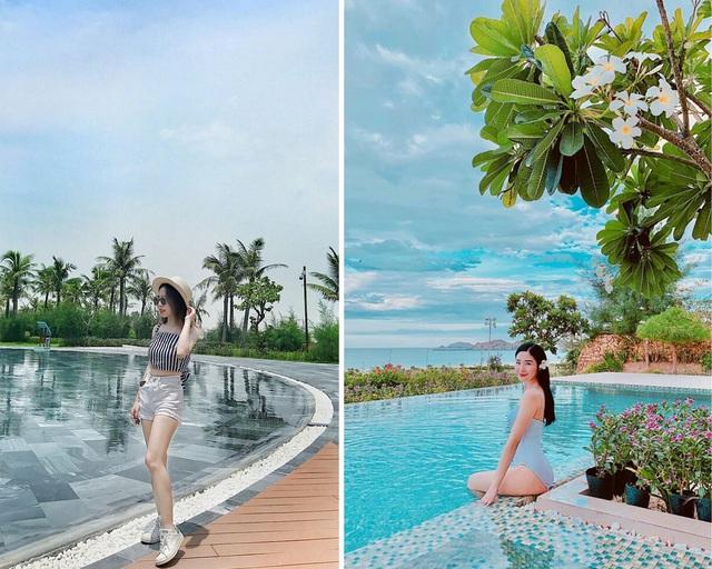 Bí quyết để có những tấm hình bên bể bơi như travel blogger: Du lịch thời nay, ngoài ăn chơi nghỉ dưỡng, đi về nhất định phải có ảnh đẹp!  - Ảnh 8.