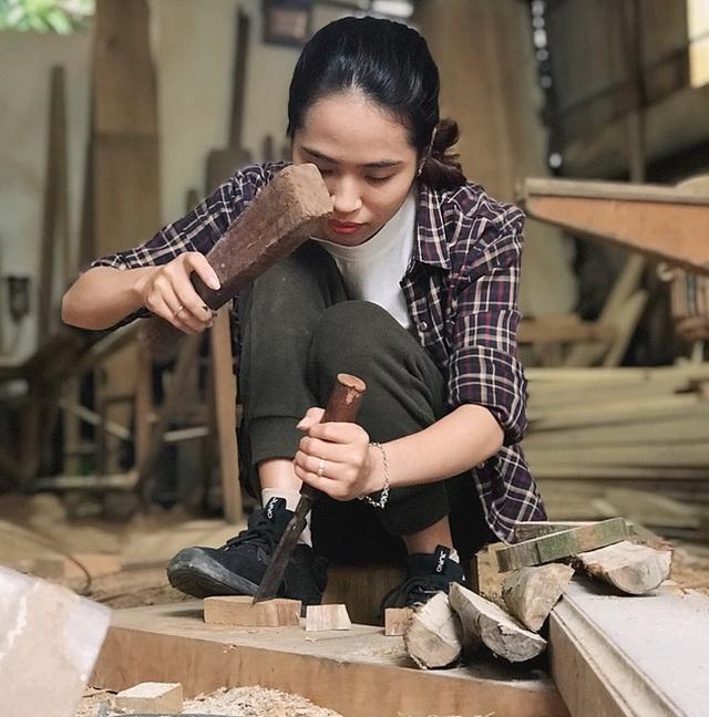 Chuyện nàng cựu sinh viên kiến trúc lương tháng 30 triệu đùng cái bỏ việc về quê làm thợ mộc, khởi nghiệp từ góc chuồng gà - Ảnh 5.