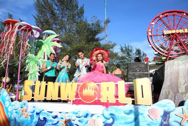 Sau Covid-19, du lịch Sầm Sơn bùng nổ với lễ hội Carnival đường phố - Ảnh 1.