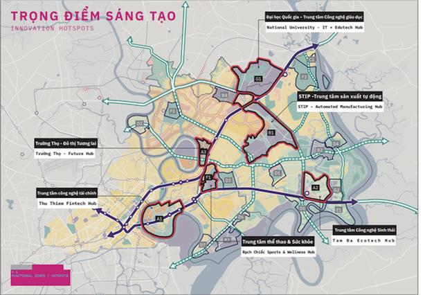 3 khu vực ở phía Đông Tp.HCM vừa được đề xuất quy hoạch lại như thế nào? - Ảnh 3.