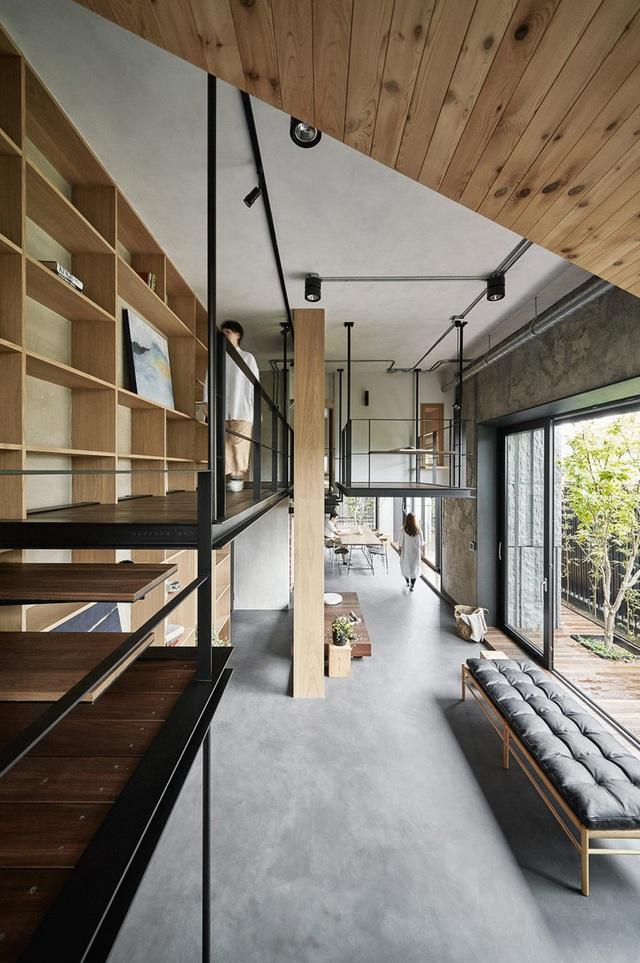 Ngôi nhà có phòng ngủ treo ấn tượng - Ảnh 4.