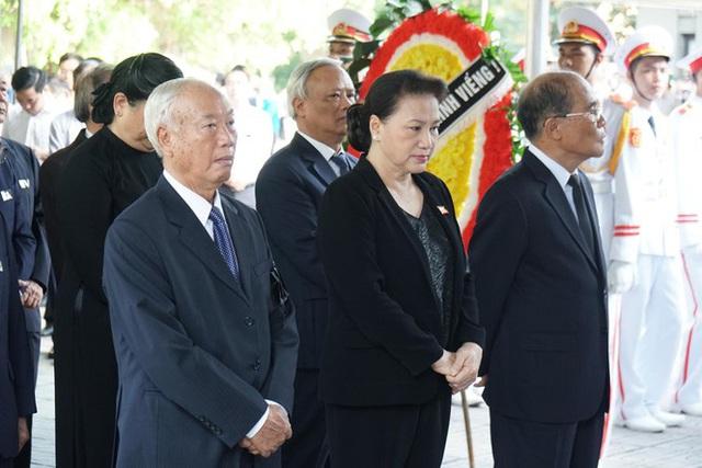 Lễ tang đồng chí Vũ Mão theo nghi thức cấp cao - Ảnh 5.
