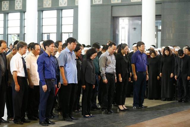 Lễ tang đồng chí Vũ Mão theo nghi thức cấp cao - Ảnh 7.