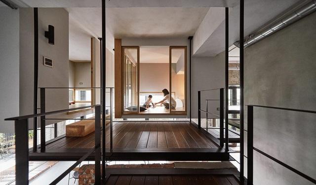 Ngôi nhà có phòng ngủ treo ấn tượng - Ảnh 8.
