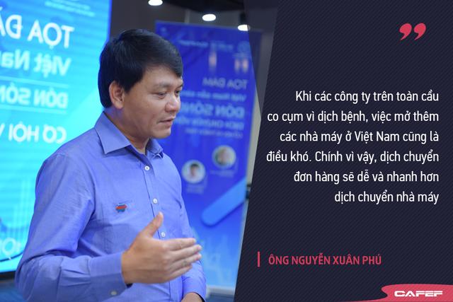 Ông Phú Sunhouse: Đón sóng đầu tư FDI mùa Covid-19, dịch chuyển đơn hàng sẽ dễ và nhanh hơn dịch chuyển nhà máy - Ảnh 1.