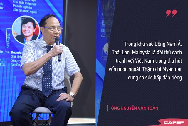 Ông Nguyễn Văn Toàn-Phó chủ tịch VAFIE: Việt Nam vẫn tham gia chuỗi giá trị ở mức độ thấp - Ảnh 1.
