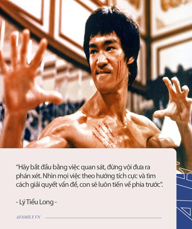 Dạy con theo cách của Lý Tiểu Long: Mỗi bài học chỉ tóm gọn trong một câu nói nhưng lại đủ sức làm thay đổi cả một con người - Ảnh 2.