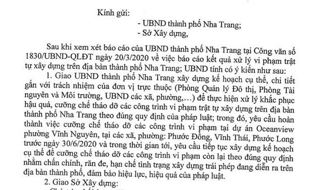 Biệt thự sai phạm ở Nha Trang vì sao đến hạn vẫn chưa xử lý? - Ảnh 5.