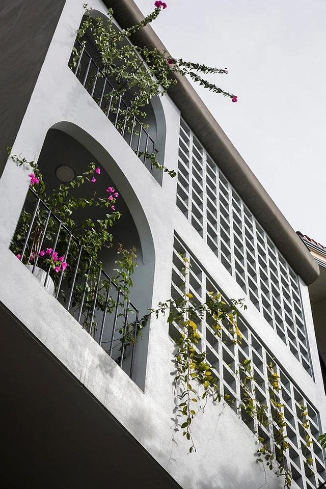 Ngôi nhà phố giản dị ở Hưng Yên sử dụng loạt giải pháp để trữ nước mưa - Ảnh 6.