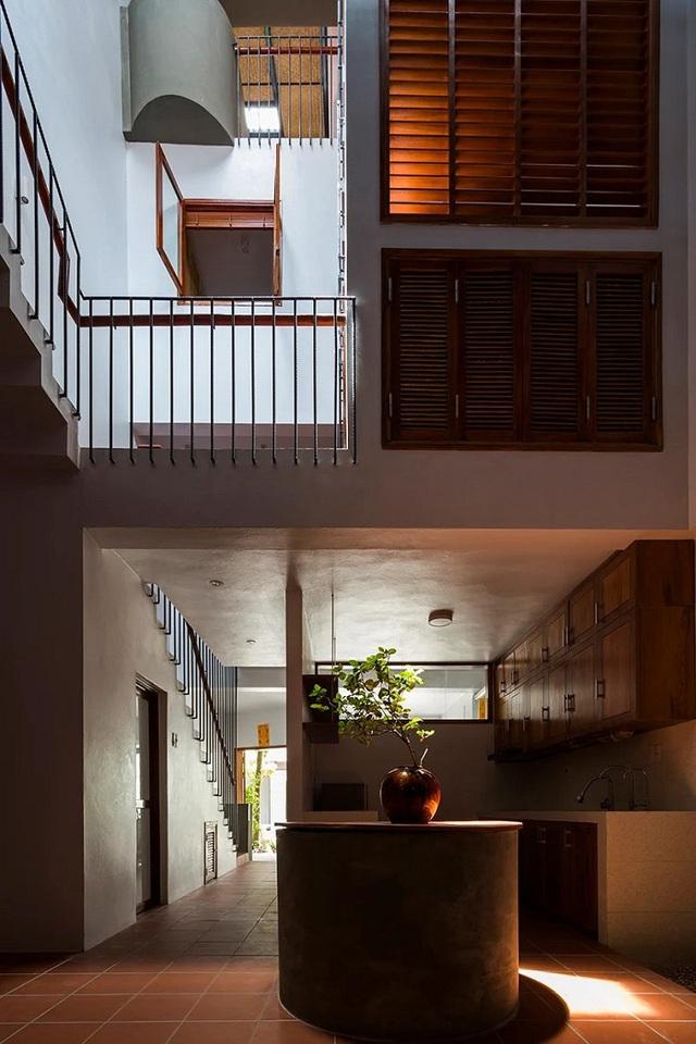 Ngôi nhà phố giản dị ở Hưng Yên sử dụng loạt giải pháp để trữ nước mưa - Ảnh 7.