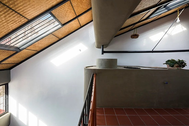 Ngôi nhà phố giản dị ở Hưng Yên sử dụng loạt giải pháp để trữ nước mưa - Ảnh 9.