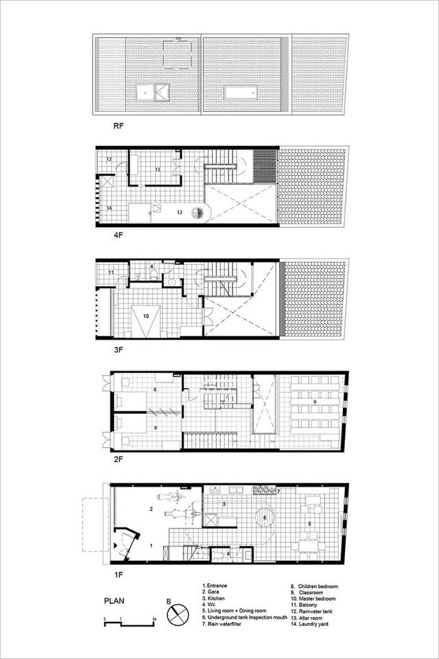 Ngôi nhà phố giản dị ở Hưng Yên sử dụng loạt giải pháp để trữ nước mưa - Ảnh 11.