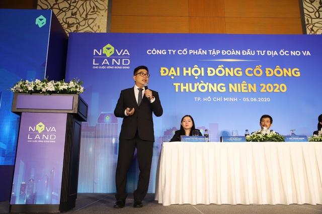 ĐHCĐ Tập đoàn Novaland: Dự kiến giới thiệu 8.000 sản phẩm BĐS ra thị trường, hướng đến mục tiêu gần 15.000 tỷ đồng doanh thu - Ảnh 1.
