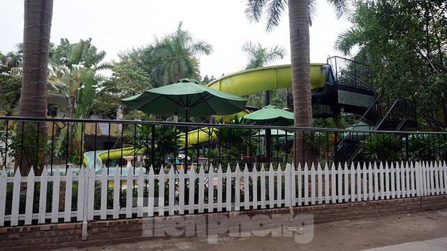 Cận cảnh các hạng mục sai phạm ở công viên Tuổi trẻ - Ảnh 5.