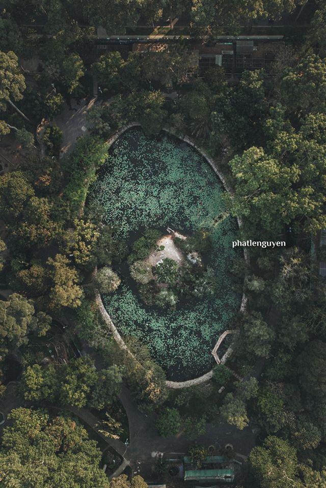 """Không tin vào mắt mình trước bộ ảnh chụp Sài Gòn từ trên cao đang """"gây bão"""" MXH: Xem hình, bạn đoán được đúng tên bao nhiêu địa điểm? - Ảnh 13."""