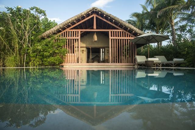 Chìm đắm trong không gian resort mái lá, nhà gỗ và mây tre ở Phú Yên - Ảnh 3.