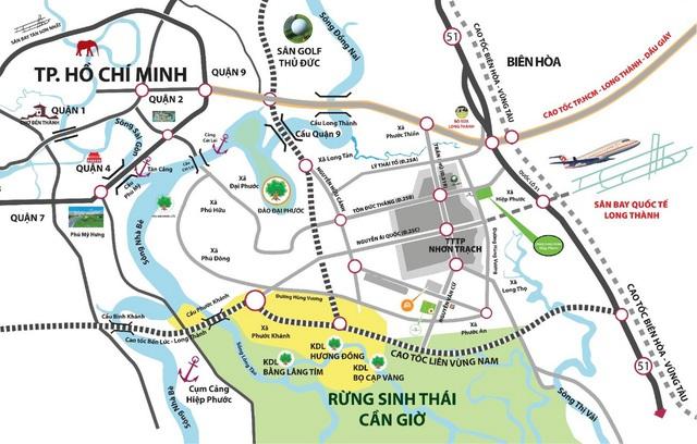 Những tuyến đường cực kỳ quan trọng phát triển đô thị Nhơn Trạch, Long Thành trong tương lai - Ảnh 1.