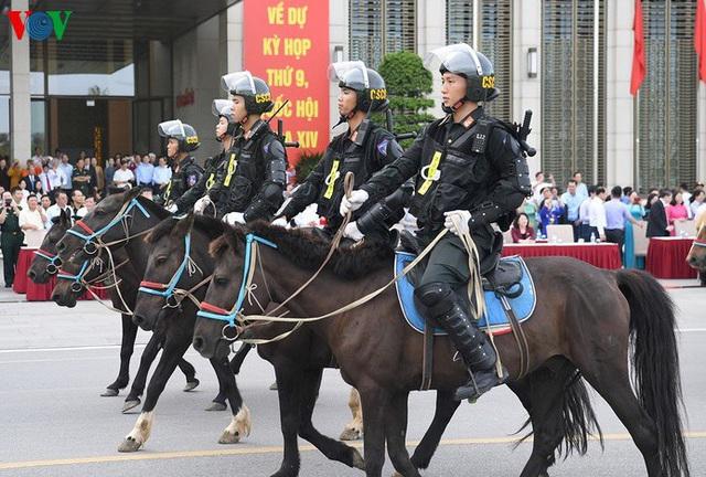 Cảnh sát cơ động kỵ binh có thể tham gia vào lễ đón nguyên thủ các nước - Ảnh 1.