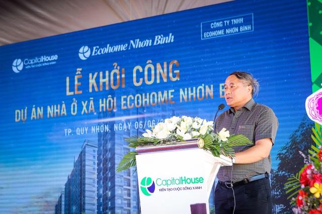 Capital House khởi công nhà ở xã hội chuẩn xanh quốc tế tại Quy Nhơn - Ảnh 1.