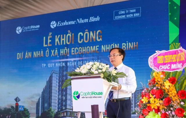 Capital House khởi công nhà ở xã hội chuẩn xanh quốc tế tại Quy Nhơn - Ảnh 2.