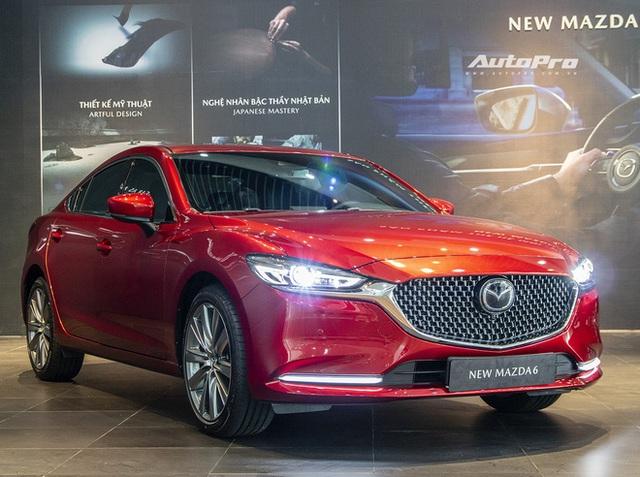 Mazda6 2020 chốt giá rẻ nhất 889 triệu đồng: Giẫm chân đàn em Mazda3, hưởng chính sách giảm 50% phí trước bạ - Ảnh 2.