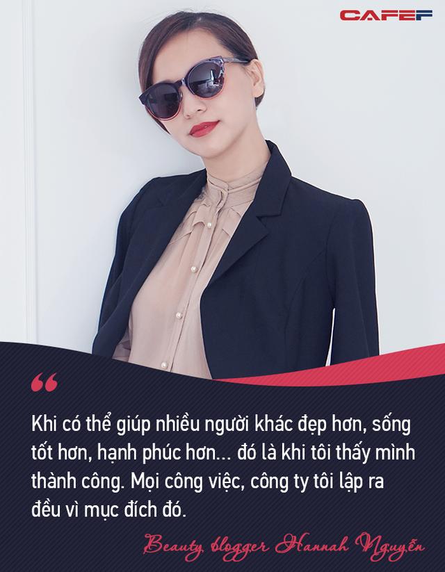 """Beauty blogger nổi tiếng Hannah Nguyễn: """"Khi có năng lực, sự nghiệp tốt, bạn có thể lựa chọn được phong cách sống của mình"""" - Ảnh 3."""